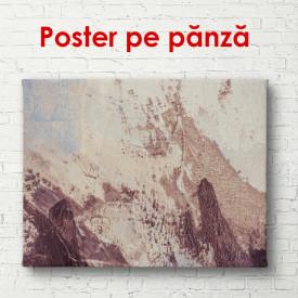Poster, Textură abstractă maro delicată