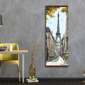 Rolap pe panza, Paris pictat