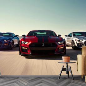 Fototapet, Cursă de mașini sportive
