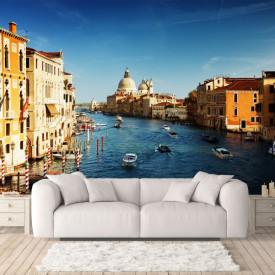 Fototapet Orase, Veneția la apusul soarelui