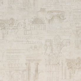 Fototapet, Peretele antic delicat realizat din coloane bej