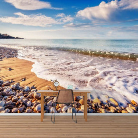 Fototapet, Plaja miraculoasă