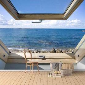 Fototapet, Priveliștea mării