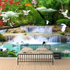 Fototapete 3D, Paradisul florilor
