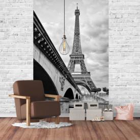 Fototapete Alb-Negru, Franța în culorile alb-negru