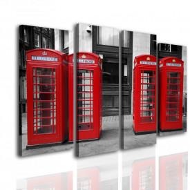 Multicanvas, Cabinele telefonice roșii