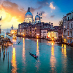 Multicanvas, Veneția de noapte