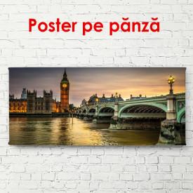 Poster, Apus de soare în Londra