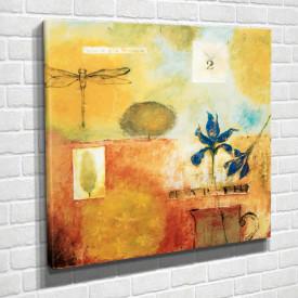 Poster, Compoziție abstractă galbenă