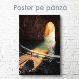 Poster, Ieșirea din peșteră