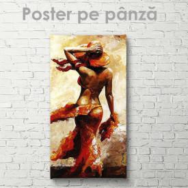 Poster, Lady în roșu