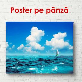 Poster, Marea cu cerul albastru