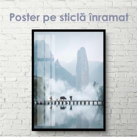 Poster, Peisaj frumos la munte