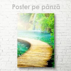 Poster, Podul peste iaz