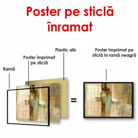 Poster, Textură abstractă multicoloră