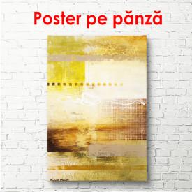 Poster, Textură aurie multicoloră