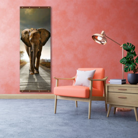 Rolap pe panza, Elefantul înfuriat