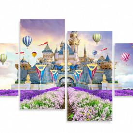 Tablou modular, Castelul din povești.