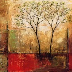 Tablouri Canvas, Peisajul abstract de toamnă