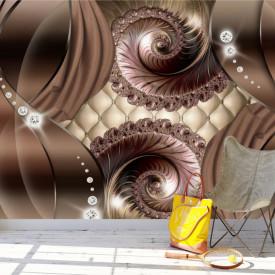 Fototapet 3D, Valuri de ciocolată