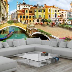 Fototapet Fresco, Fototapete cu o curte frumoasă din Veneția