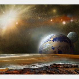 Fototapet, Peisajul cosmic
