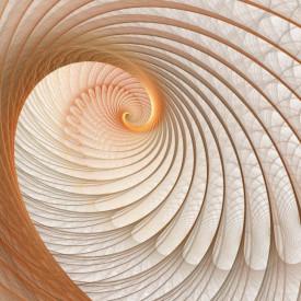Fototapet, Tunelul abstract