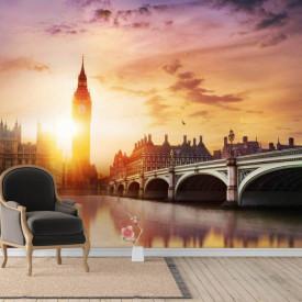 Fototapete, Apus de soare în London