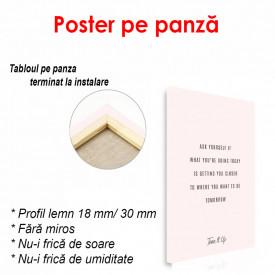 Poster, Citat înțelept