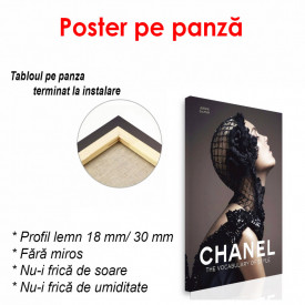 Poster, Coperta Chanel
