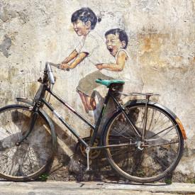 Poster, Copii și bicicleta
