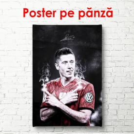 Poster, Fotbalistul Robert Lewandowski