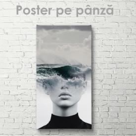 Poster, În gândul său