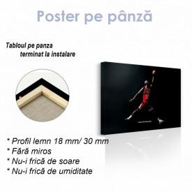 Poster, Mikhail Jordan aruncă un gol