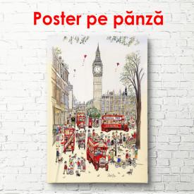Poster, Orașul vechi