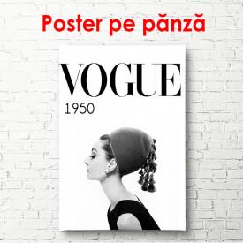 Poster, Poster Vogue cu Sophia Loren