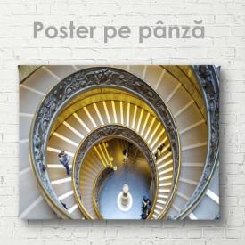 Poster, Scările rotunde