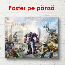 Poster, Transformator în orașul zgârie-nori