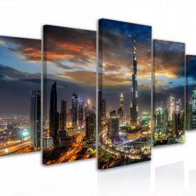 Tablou modular, Peisaje din Dubai