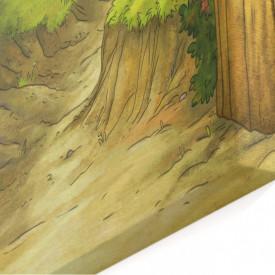 Tablou modular, Primbarea prin pădure.