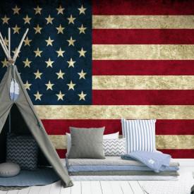 Fototapet, Drapelul Statelor Unite