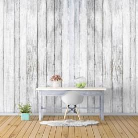 Fototapet, Un perete din lemn