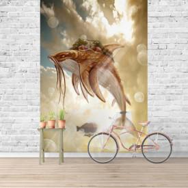 Fototapet, Un pește zburător