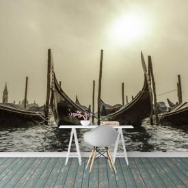 Fototapete, Barci pe apă.