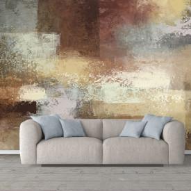 Fototapete, Perete abstract în tonuri de culoare brună