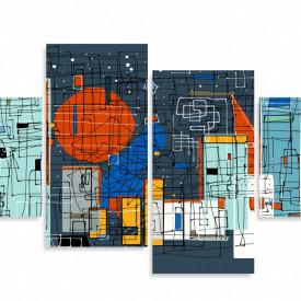 Multicanvas, Orașul abstract