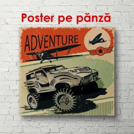 Poster, Aventură