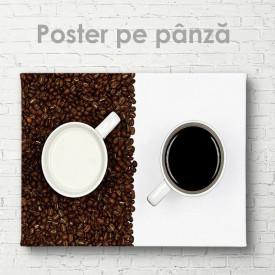 Poster, Cafea cu lapte