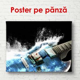 Poster, Chitara albastră