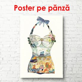 Poster, Costum de baie pentru femei
